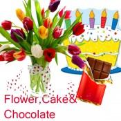 Flowers Cake & Chocolates (1)